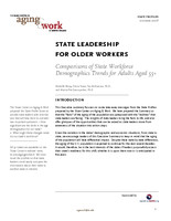 State leadership for older workers