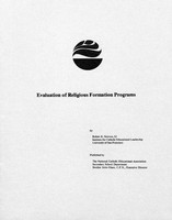 Evaluation of religious formation programs