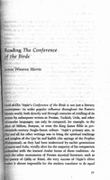 Reading The conference of the birds