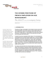The diverse positions of French employers on age management