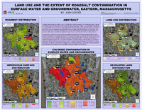 Land use and the extent of roadsalt contamination in surface water and groundwater, Eastern, Massachusetts