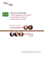 Effects of country & age on work engagement, job satisfaction & organizational commitment among employees in Brazil