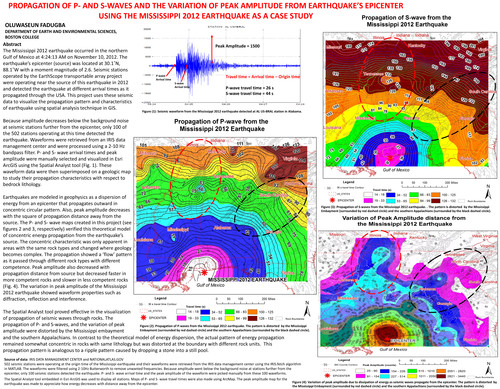 understanding the p and s waves on the subject of earthquakes Understanding and preparation of earthquake it caused by the fast release of elastic energy stored in rock which been subject p and s waves are.