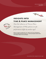 Insights into time & place management