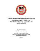 Trafficking Against Human Beings from the Polish-European Perspective