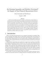 Are Earnings Inequality and Mobility Overstated? The Impact of Non-Classical Measurement Error