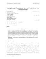 Linking Granger Causality and the Pearl Causal Model with Settable Systems