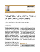 The impact of long vesting periods on state and local workers