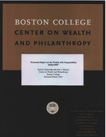 Extended report on the wealth with responsibility study/2000