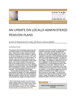 An update on locally-administered pension plans