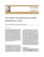 The impact of pensions on state borrowing costs