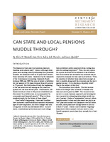 Can state and local pensions muddle through?