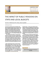 The impact of public pensions on state and local budgets