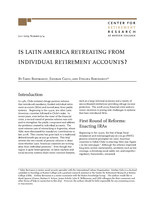 Is Latin America retreating from individual retirement accounts?
