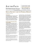 Social Security and the federal budget