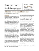 A primer on reverse mortgages
