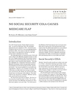 No Social Security COLA causes Medicare flap