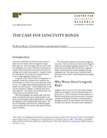 The case for longevity bonds