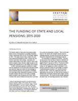 The funding of state and local pensions