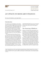 An  update on Medicare's finances