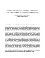 The effects of dam removal on sea level and the Mekong River region as a proxy for climate sensitive communities