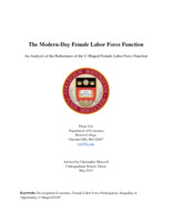The Modern-Day Female Labor Force Function