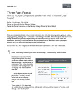 Three fast facts