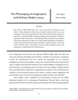 The philosophy of imagination and William Blake's Jesus