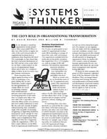 The CEO's role in organizational transformation