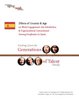 Effects of country & age on work engagement, job satisfaction & organizational commitment among employees in Spain