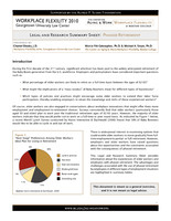 Legal and research summary sheet