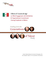 Effects of country & age on work engagement, job satisfaction & organizational commitment among employees in Mexico