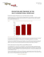 Education and training in the multi-generational workforce