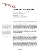 Older and out of work