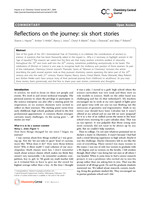 Reflections on the journey: six short stories