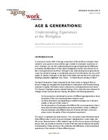 Age & generations