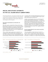 Racial and ethnic diversity in the U.S. older adult labor force
