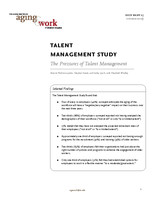 Talent management study