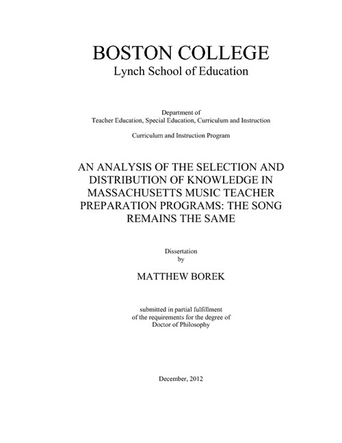 an analysis of the selection of music •the name and composer of the selection • the location of the selection • (eg introductory concepts: the structure of music) • a short analysis of the piece from the point of view of a referential listener.