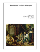 Orientalism in French 19th Century Art