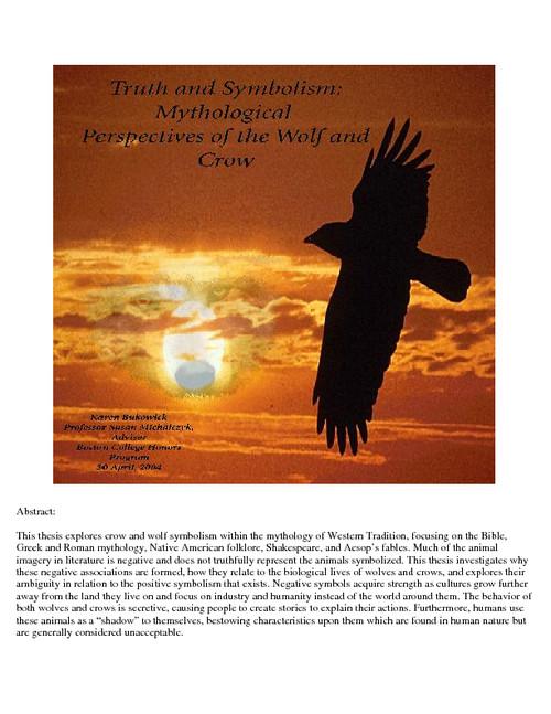 Truth And Symbolism Escholarshipbc