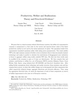 Productivity, Welfare and Reallocation