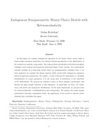 Endogenous Semiparametric Binary Choice Models with Heteroscedasticity