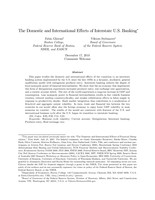 The Domestic and International Effects of Interstate U.S. Banking