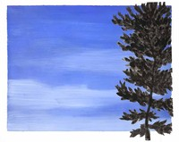 Blue sky and tree 1