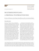 Multiemployer plans