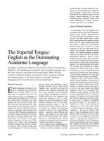 The imperial tongue