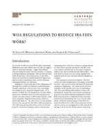 Will regulations to reduce IRA fees work?
