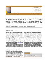 State and local pension costs