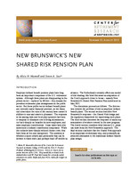 New Brunswick's new shared risk pension plan